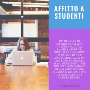 Contratto di locazione per studenti universitari for Contratto per studenti