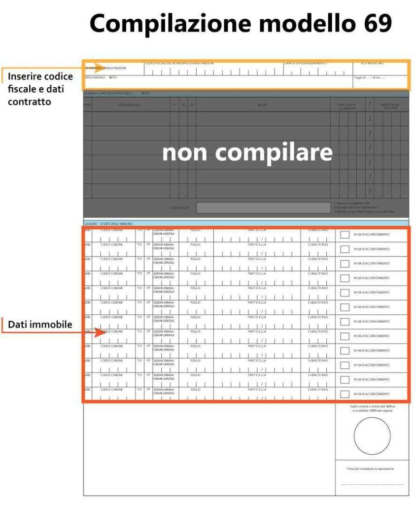 Compilazione Modulo 69 pagina 2